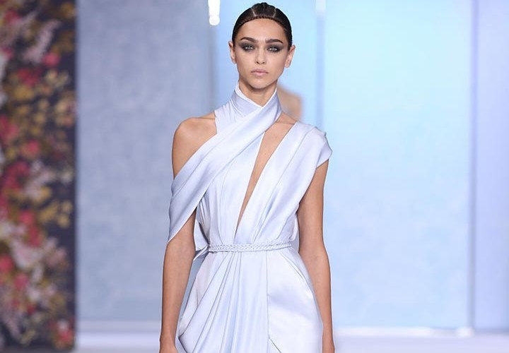 ralph-_-russo white dress